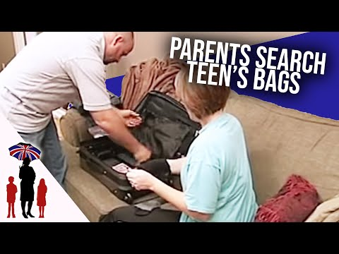 Dad Finds Porno Film Hidden In Teenagers Suitcase | Supernany USA