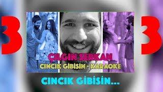 Çılgın Serkan - Cıncık Gibisin (Karaoke)