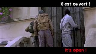 LEARN FRENCH with a french movie - french lesson Yamakasi part3