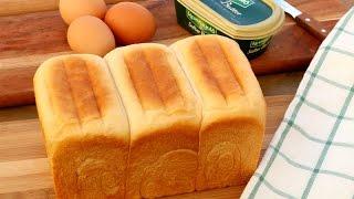 Super Soft and Moist Chinese Bakery Milk Bread   Hokkaido Milk Bread Recipe   牛奶湯種麵包 土司