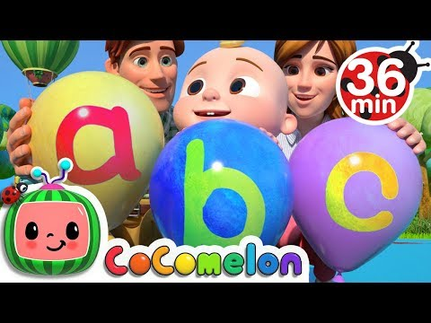 ABC Song with Balloons More Nursery Rhymes & Kids Songs CoCoMelon
