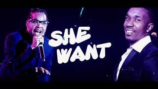 DJ Bravo Feat. Orlando Octave - She Want Me (Lyric Video)