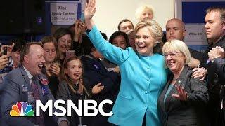 Hillary Clinton Holds Edge In Last Round Of Polls | Morning Joe | MSNBC