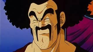 Dragonball Z - Hercule (Mr Satan) casse des tuiles