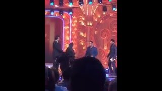 Salman Khan on stage at the golden petal awards