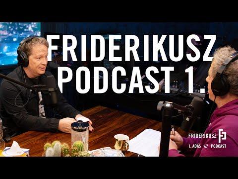PREMIER Friderikusz Podcast 1. epizód
