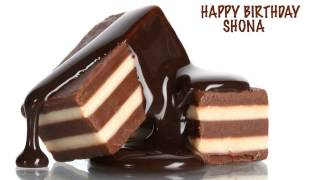 Shona   Chocolate - Happy Birthday