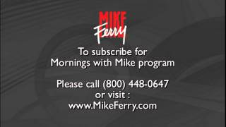 Mike Ferry - Mornings with Mike Program Call Sample