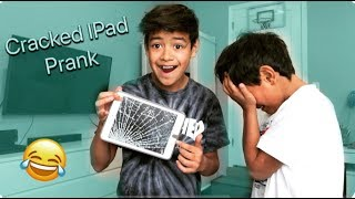 CRACKED SCREEN PRANK ON BROTHERS!!! They Were Devastated!!