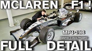 FULL DETAIL Formula 1 McLaren MP4-19B Race Car