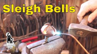 Forging Jingle bells or Sleigh bells from precut blanks