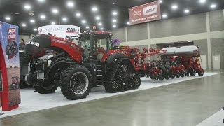 Case IH Exhibit at the 2015 National Farm Machinery Show