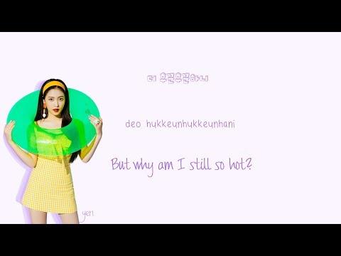 Red Velvet Power Up Lyrics Han Rom Eng Color Coded