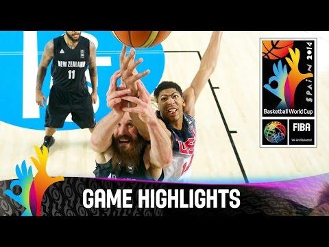watch USA v New Zealand - Game Highlights - Group C - 2014 FIBA Basketball World Cup