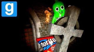 Garry's Mod Horror: CASTILLO EMBRUJADO Y DORITOS + REFRESCO! (Gmod con Amigos - Funny Moments) Lechu