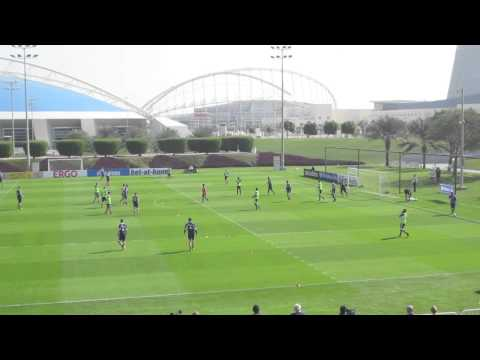 Schalke 04 Crossing and Finishing Game