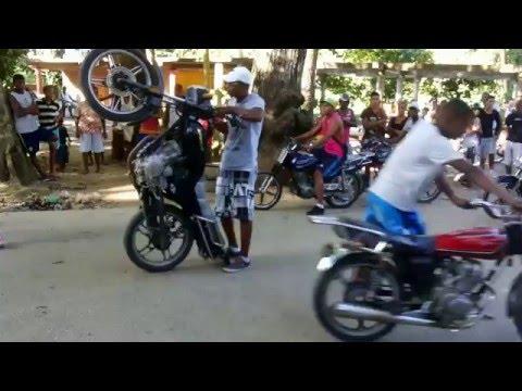 Moto Piruetas Birongo Higuerote