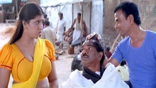 Bhuvaneswari & L.B. Sriram Comedy Scene || Bhagyalakshmi Bumper Draw Movie || Rajendra Prasad