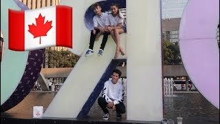 A Real Canadian Tour 🇨🇦 (WK 346) | Bratayley