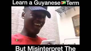 Guyanese American misinterpret ANTIMAN lol