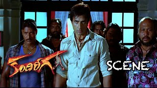 Ram Warns Sonu Sood And Fights With His Gang || Fight Scene || Kandireega Movie Action Scenes