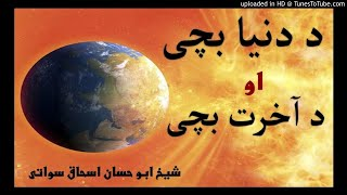 sheikh abu hassaan swati pashto bayan -  د دنیا بچی او د آخرت بچی