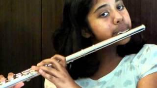 Anondo loke on the Flute