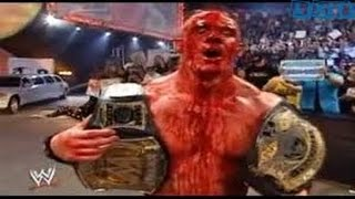 WWE RAW FULL MATCH John Cena VS JBL The Judgment Day Full Match Bleeding Fight In Ring   YouTube