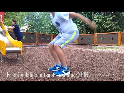 Journey to Double Backflip Parkour & Freerunning Progression