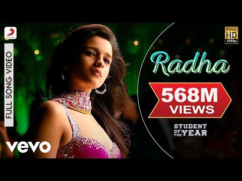 Radha - SOTY | Alia Bhatt | Sidharth Malhotra | Varun Dhawan