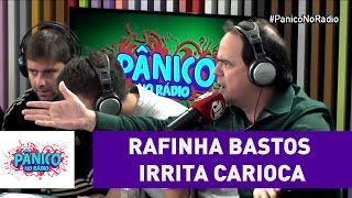 Rafinha Bastos vs Carioca | Pânico