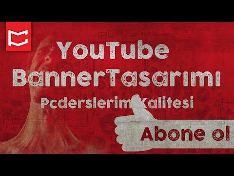 Kolay YouTube Online Banner Tasarımı [Photoshop Dersleri]