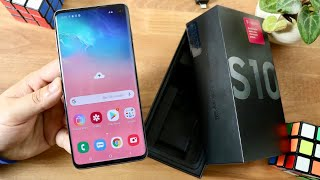 Unboxing $649 Brand New Samsung Galaxy S10!
