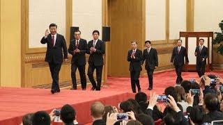直播回看:十九届中共中央政治局常委同中外记者见面   CCTV