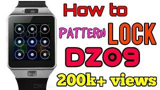 How to put password on DZ09 smartwatch.||security ||restore|