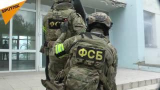 عملیات آزادسازی گروگان ها در کریمه
