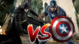 Batman VS Captain America | Who Wins?