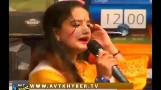 Nisar Sani Attan on AVT Khyber Show on Muskan Song 17 5 2014