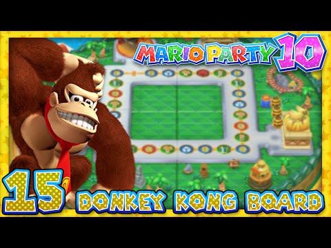 Mario Party 10 Part 15 Donkey Kong Amiibo Board 4 Player