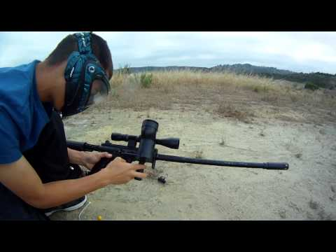 Tippmann a5 sniper shooting review not final video
