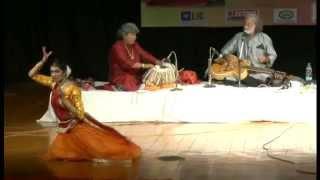 Shinjini Kulkarni (kathak dancer and actor) with Pt.Vishwa Mohan Bhatt