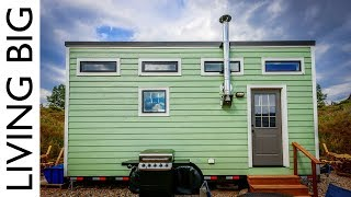 Couple's Debt-Free Life In A Stunning $18,000 Tiny House