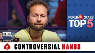 Top 5 Most Controversial Poker Hands   PokerStars