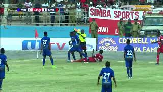 Azam TV - Mabao, full highlights Mbao FC Vs Simba SC 2-2