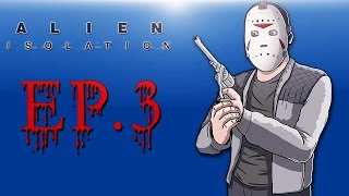 Delirious Plays Alien: Isolation Ep. 3 (The Monster is here!)