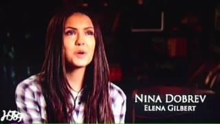 The Vampire Diaries - Casting Ian Somerhalder/Damon and Nina Dobrev/Elena