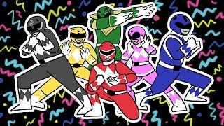The Story of the Mighty Morphin' Power Rangers in 3 Minutes!