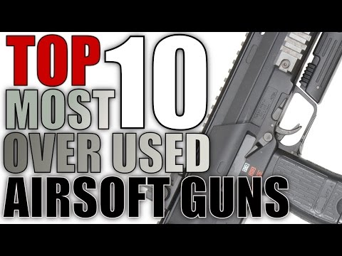 Top 10 Most Over Used Airsoft Guns Most Common Popular Airsoft Guns USAirsoft