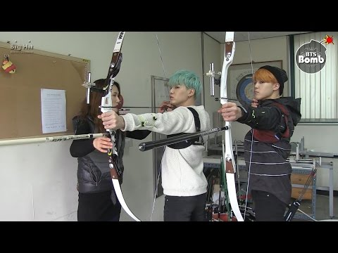 [BANGTAN BOMB] Became an archer! SUGA & JIMIN's new challenge for ISAC