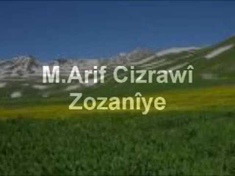 M Arif Cizrawî Zozanîye
